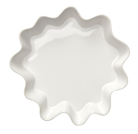 Höganäs Keramik pajform 2L Vit Blank