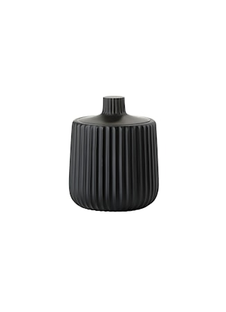 Zone Denmark Krukke - Black - Stk. - Grace - Polyresin - Mat - D 9,0cm - H 11,5cm - Gaveæske thumbnail
