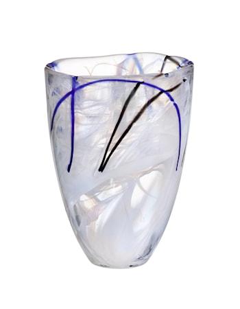 Bilde av Kosta Boda Contrast Hvit Vase 20 cm