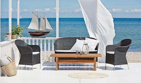 Sika Design Athene loungegruppe - 4-delssett, eiksklusive puter thumbnail