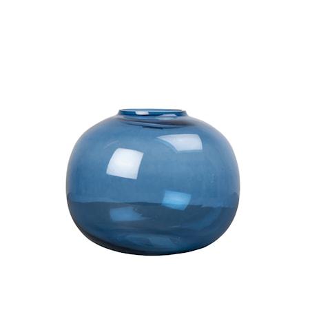 Vas Lova Glas Blå 18cm
