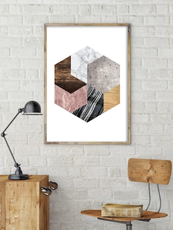 Bilde av Konstgaraget Geometry abstraction 1 poster