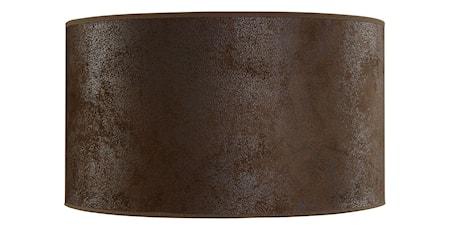 Cylinder Lampskärm Medium Mocka Brun