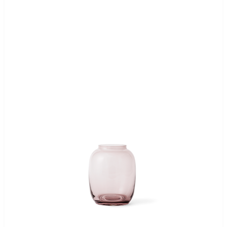 Form 140/1 Munblåst Glas Burgundy 13cm