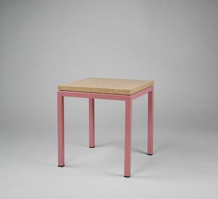Reis Pettersson Piccolo bord 30x30x30 - Rosa underrede, Pisa pink