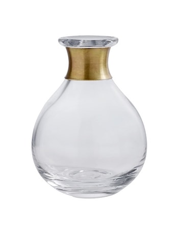 Bilde av Nordal Ring Vase 14 cm Klar