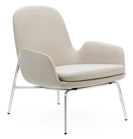 Normann Copenhagen Era Lounge Chair Low – Chrome Beige