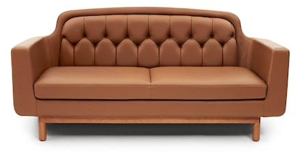 Normann Copenhagen Onkel leather sofa 2-seter thumbnail