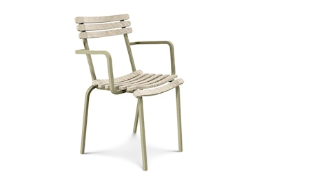 Ethimo Laren stacking stol - Pickled teak