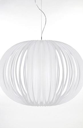 Bilde av Globen Lighting Pendel Plastbånd XXL Hvit
