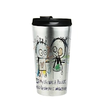 Poul pava poets If my life was a puzzle To-go mugg 38 cl