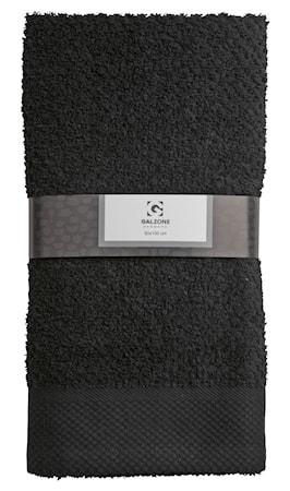 Galzone Håndklæde - 100% bomuld - 400 g - Sort - L 100,0cm - B 50,0cm - Sleeve - Stk. thumbnail