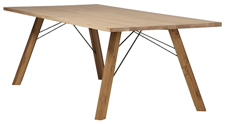 Spoinq Straight TEAK Wooden table