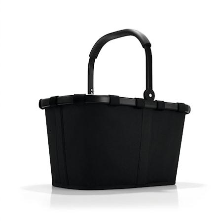Shoppingkorg med svart ram 22 L