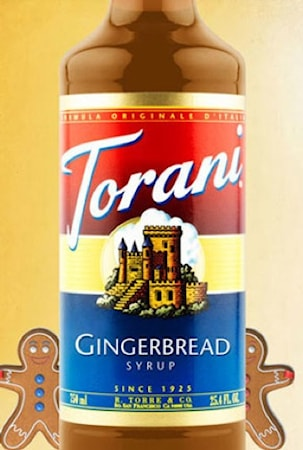 Torani Gingerbread Syrup 750 ml -