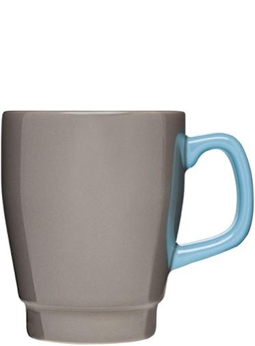 Kaffemugg Pop Brun/Turkos