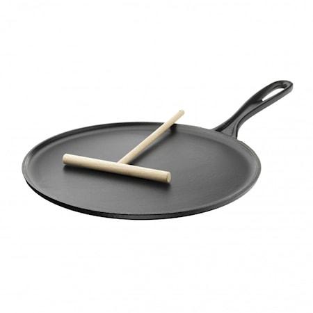 Le Creuset Crepes-pannu 27 cm Matte Black