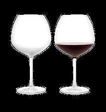 Premium Rödvinsglas, 2 st., 93 cl