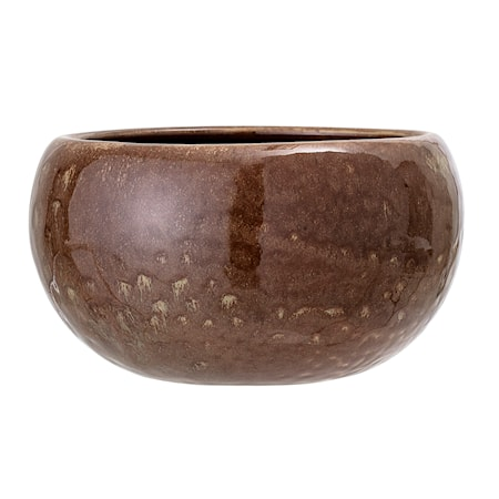 Bilde av Blomsterkrukke Stone Brown Ø15 cm
