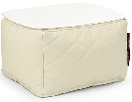 Pusku Pusku Soft table 60 quilted outside sidobord - Beige