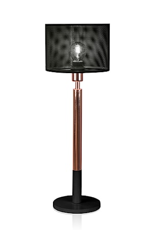 Bilde av Globen Lighting Bordlampe Net Svart