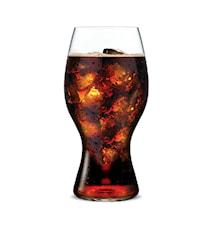 Coca Cola-glas i Rör
