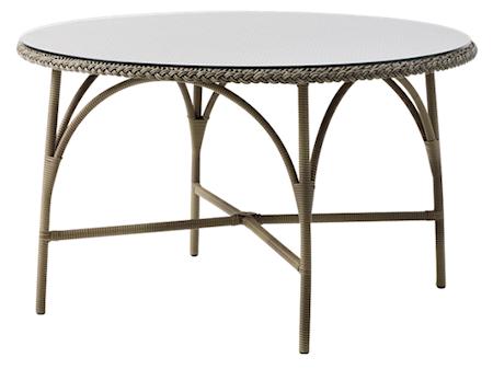 Sika Design Victoria runt matbord – Inkl glasskiva