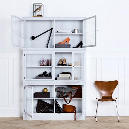 Oliver Furniture Seaside vitrinskåp 127 Svart