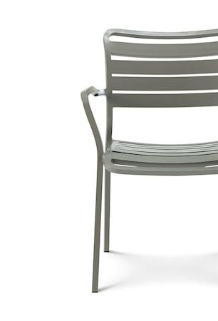 Ethimo Ocean lounge stol m. armstöd - Grå