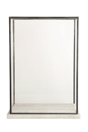 Monter Marble 17x28x38 cm - Vit/Svart