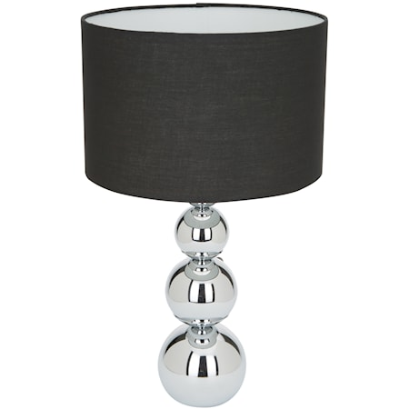 Bordslampa touch & dim Large Svart