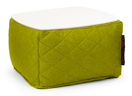 Pusku Pusku Soft table 60 quilted nordic sidobord - Lime