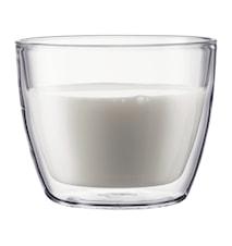 Dubbelväggat Cafe Latteglas 45 cl 2 st
