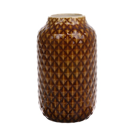 Vas Keramik Brun Glazed 148 cl
