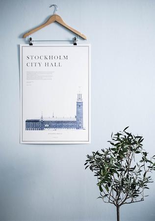Stockholm City Hall Poster