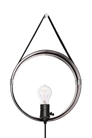 Bilde av Globen Lighting Vegglampe Hangover Svart / Krom