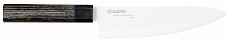 Kyocera Kokkiveitsi 17 cm 8 kulmainen kahva