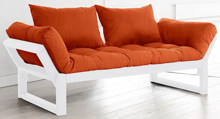 KARUP Edge soffa - vit/orange