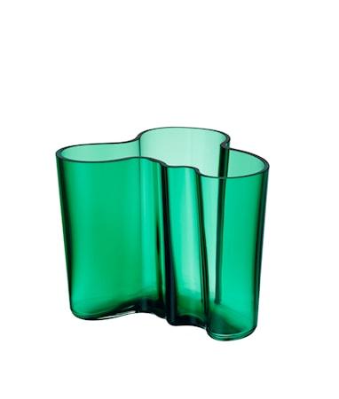Iittala Aalto maljakko 120 mm smaragdi