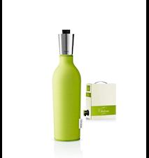 Vinkaraff/ Bag-in-Box-karaff med neoprenfodral lime 0,75 l