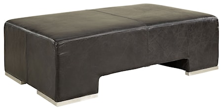 KH27 ottoman leather