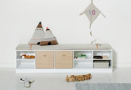 Oliver Furniture Wood shelving unit golvhylla – 5×1