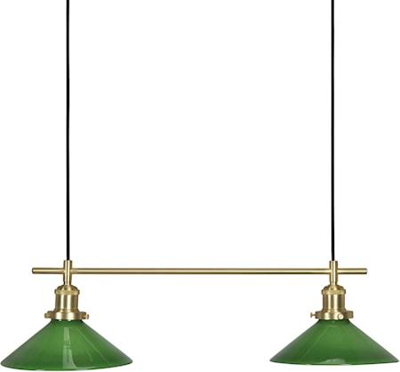 Bilde av August Taklampe Grønn 72 cm
