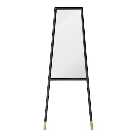 Bilde av Bloomingville speil med treramme