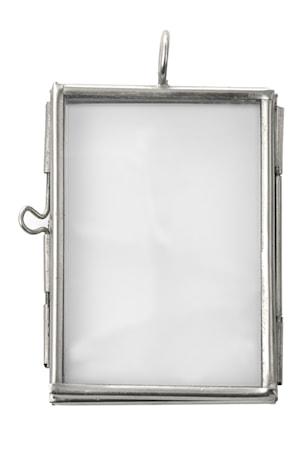 Madam Stoltz Valokuvakehys 5x3,75 cm - hopea