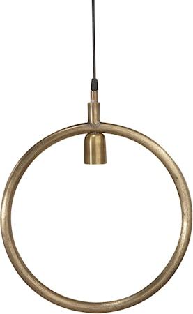 Bilde av PR Home Circle Taklampe Råmessing 35cm