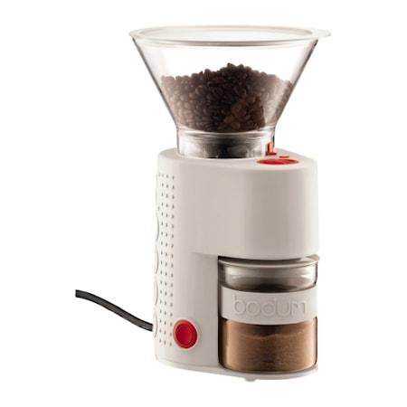 Bodum Bistro Sähköinen Kahvimylly Valkoinen