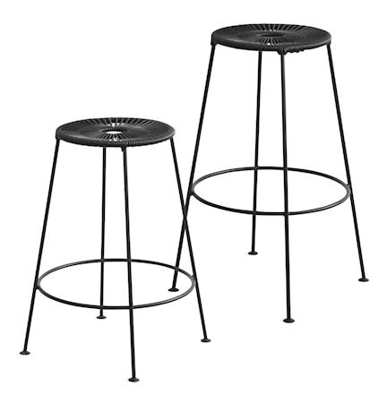 OK Design Acapulco bar stool H66 ? Svart