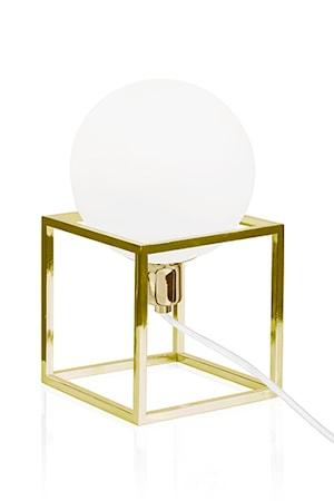 Globen Lighting Bordslampa Cube Mässing