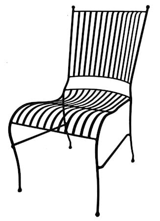 Mr Fredrik Smide stol - Svart